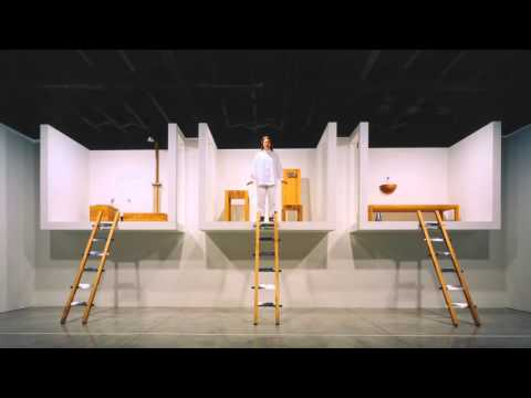 """Marina Abramovic on """"House with the Ocean View"""" (2008)"""