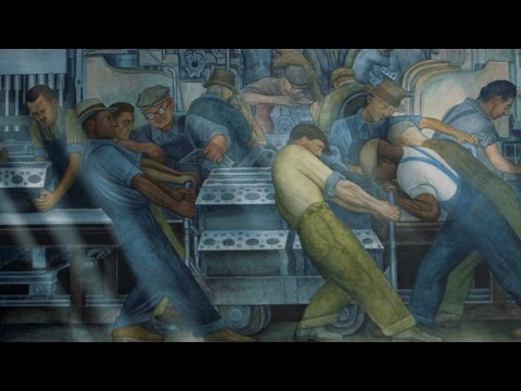 """""""Detroit Industry"""" by Diego Rivera"""