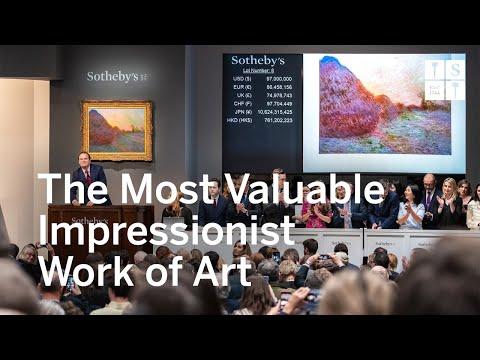 $110.7 Million Monet Shatters Auction Records