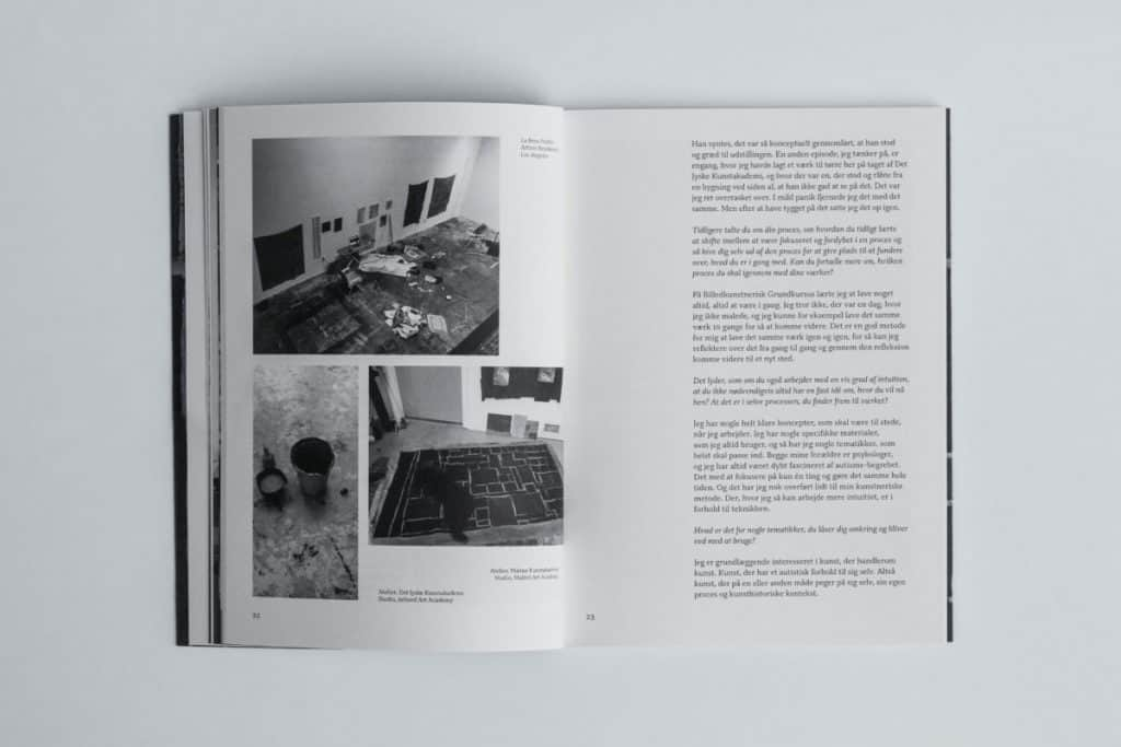 Book about young danish artists