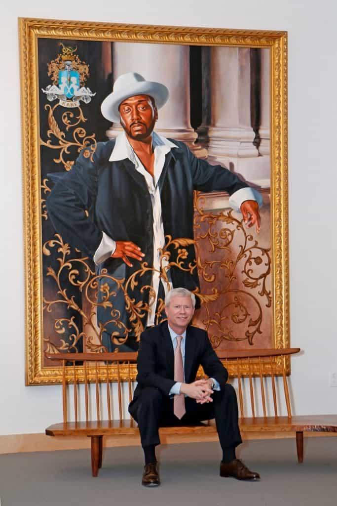 John Morrissey art collector