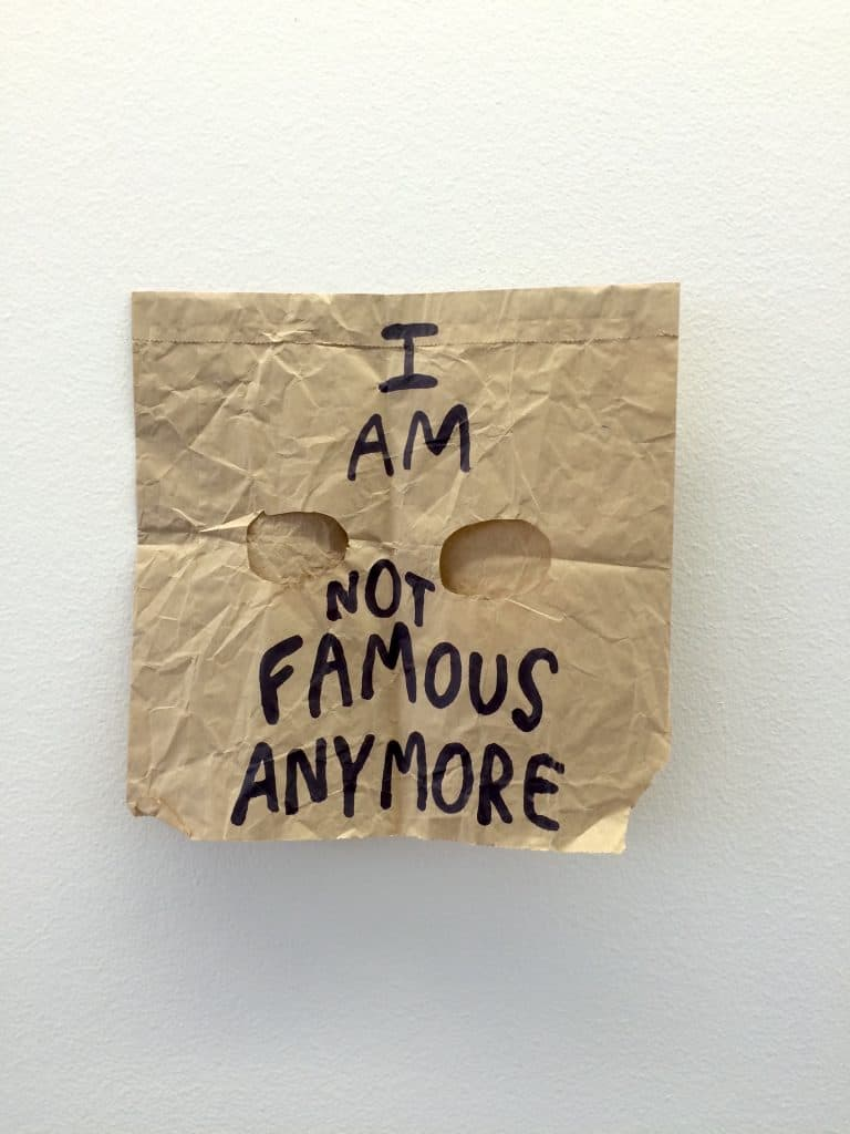 'I am not famous anymore' by Babak Ganjei