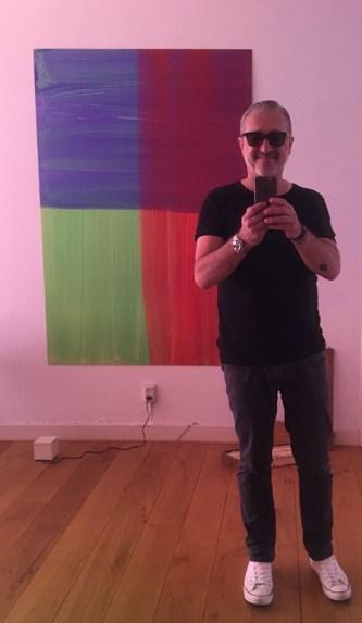 Art collector Frans Kasl