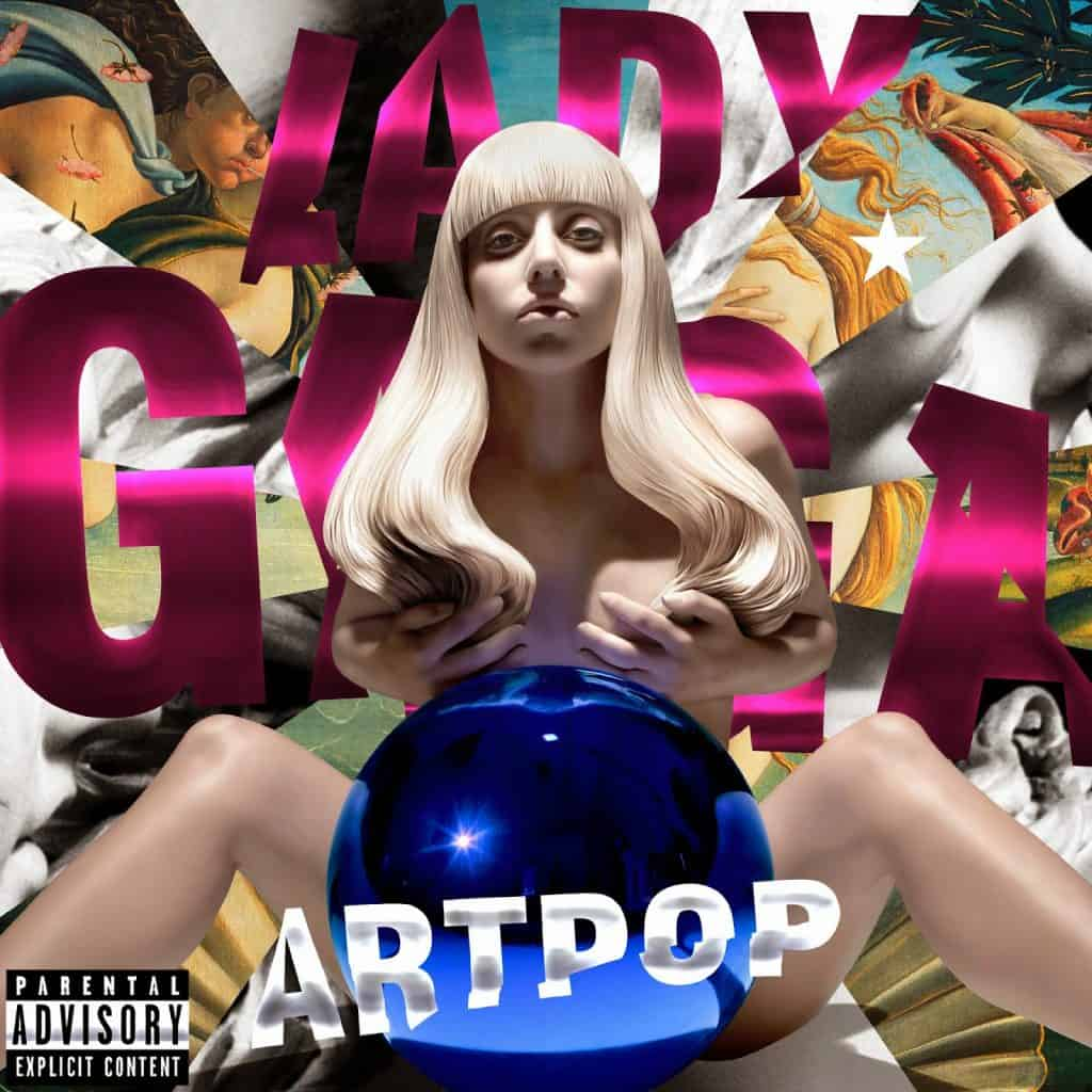 Lady Gaga's cover for 'Art Pop'