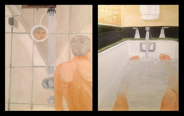 Politician paintings - George W. Bush