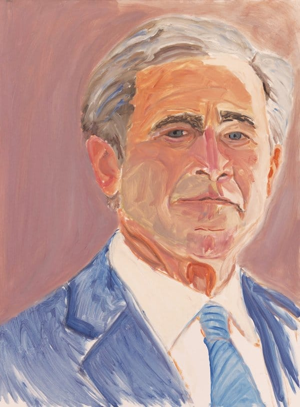 George W. Bush painting