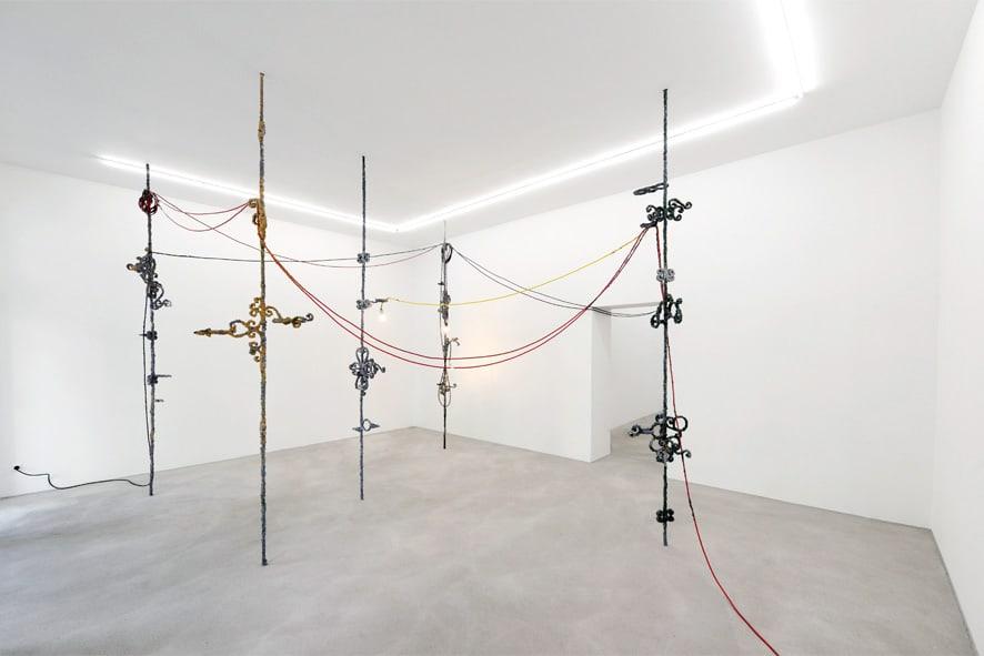 Santiago Taccetti, Firma Matar at Rolando Anselmi gallery