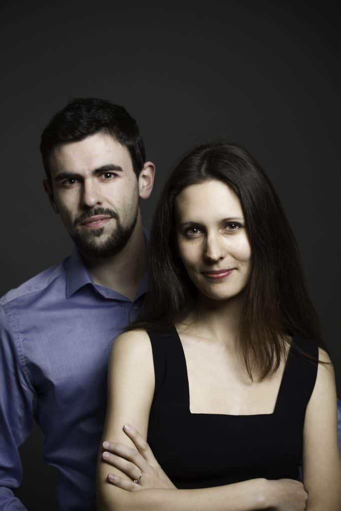 Agata and Carlos Rodriguez