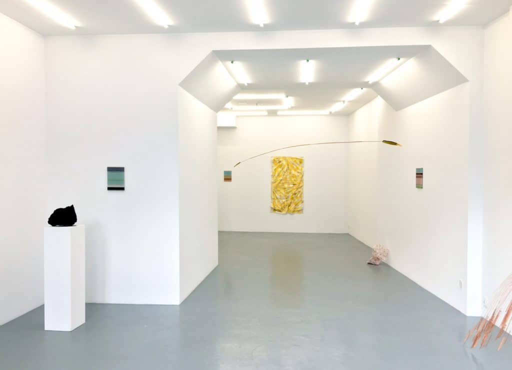 Anna Talens, Above the ground, exhibition view