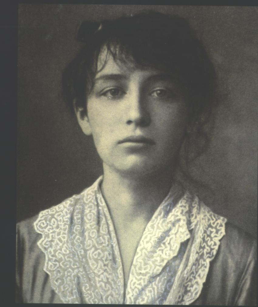 Camille Claudel in 1884. Muse definition