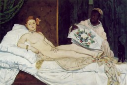 Édouard Manet, Olympia. Muse definition