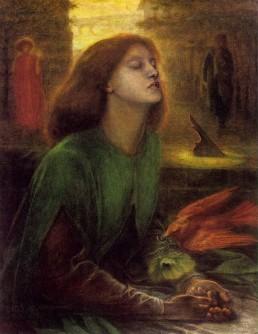 Dante Gabriel Rossetti, Beata Beatrix. Muse definition