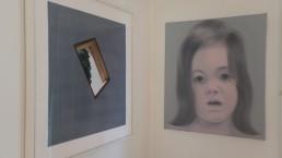 Jan Dibbets (Poblet, 1991) next to Kiki Lamers (Soprano , 1999)