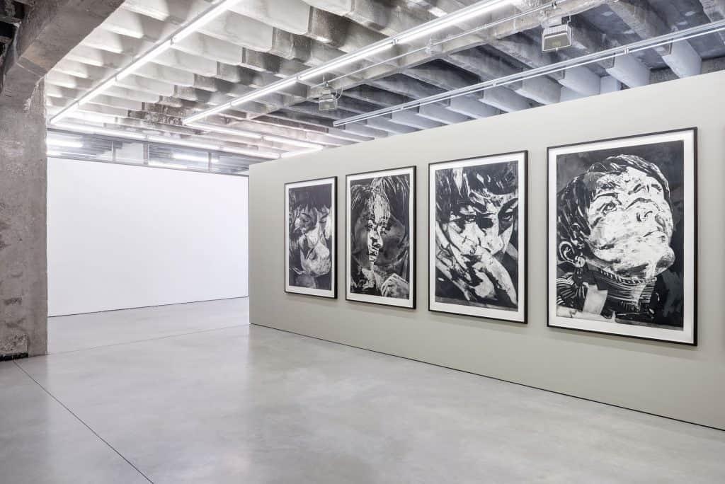 Matt Saunders, Niels Borch Jensen Gallery and Editions, Berlin, 2017-18