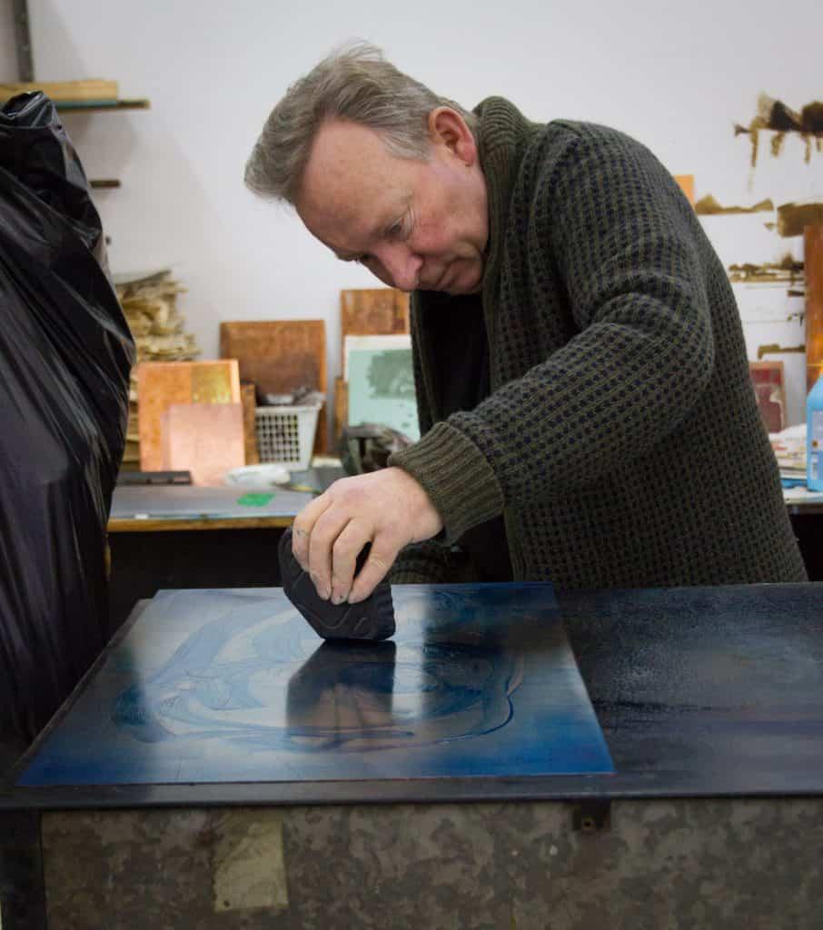 Niels Borch Jensen in Print Studio