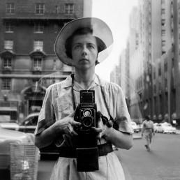 Self portrait, Vivian Maier