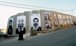 JR: 28 Millimeters, Face2Face, Israel & Palestine, 2007