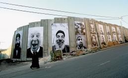 JR: 28 Millimeters, Face2Face, Israel & Palestine, 2007