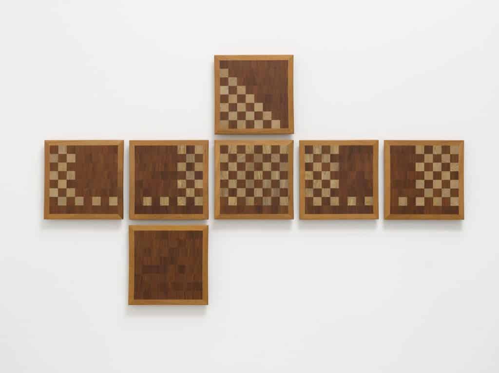 Darío Escobar, Art as a big chess game No. 6, 2017