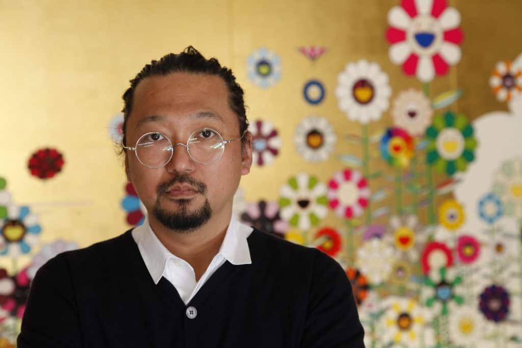 Takashi Murakami Modern artists