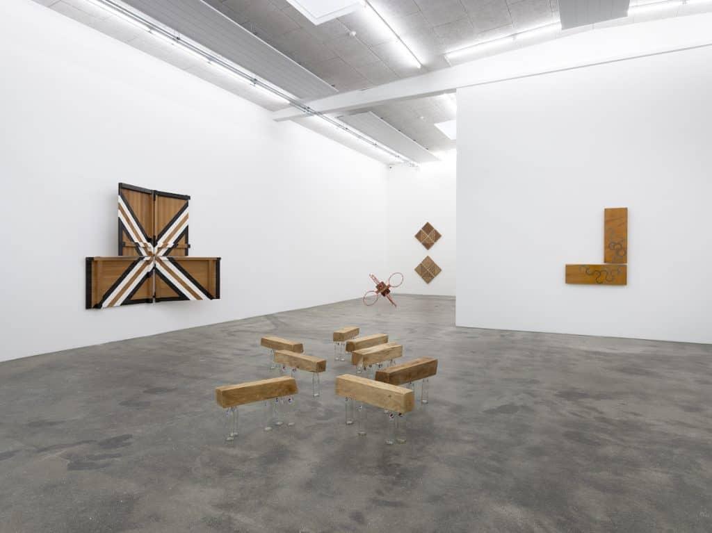 Darío Escobar, Uncertainty Principle, Installation view