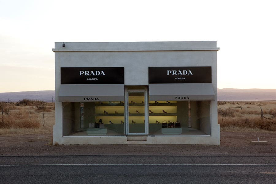 Prada x Michael Elmgreen & Ingar Dragset art fashion