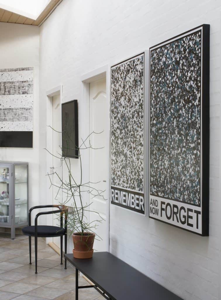 artworks by Steven Cox, Asger Dybvad Larsen and Jan S