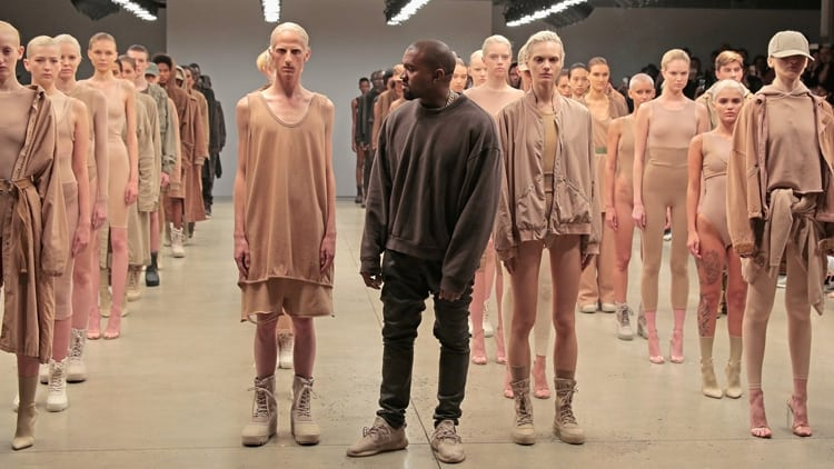 Yeezy x Vanessa Beecroft art fashion