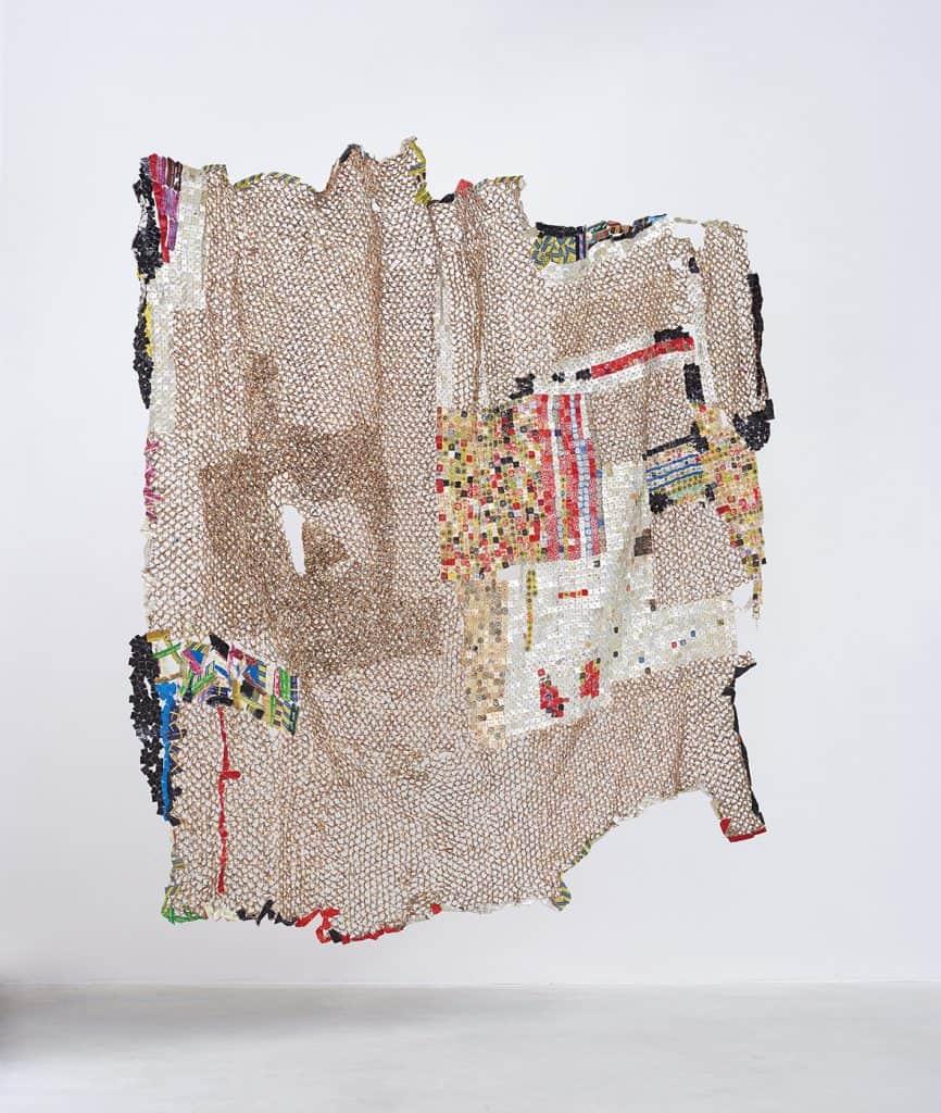 El Anatsui, E-witness, 2017