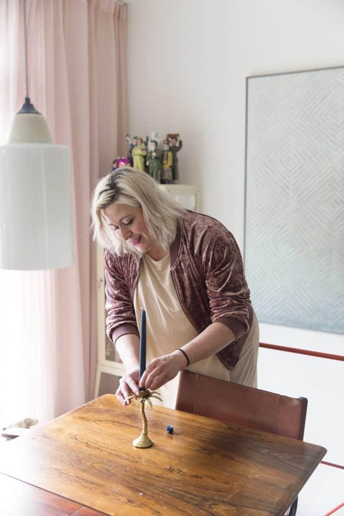 collector Mette Samkalden