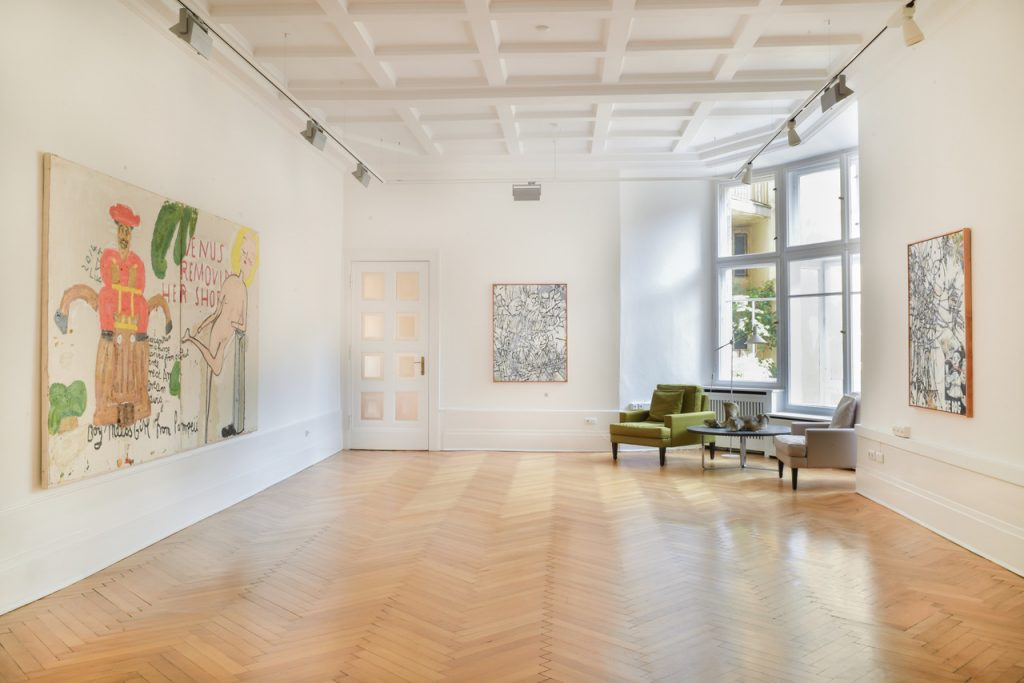 Zachary Armstrong & Rose Wylie exhibition