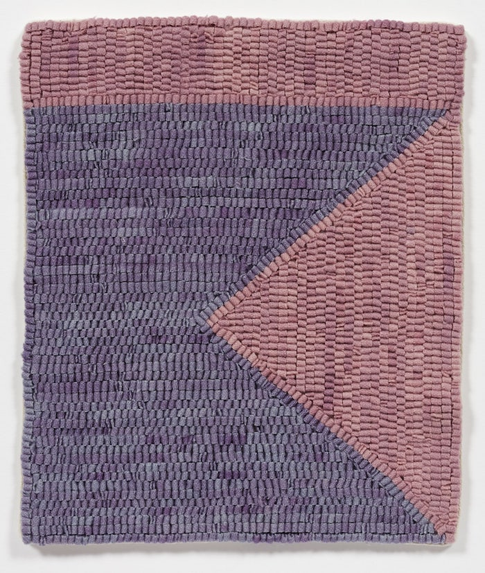 Altoon Sultan - Hand dyed wool on linen