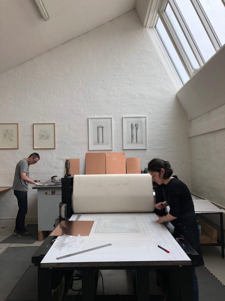 Printer's Proof at Code Art Fair 2018