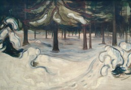 Edvard Munch - Winter