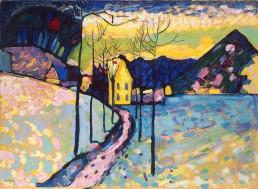 Wassily Kandinsky - Winter Landscape