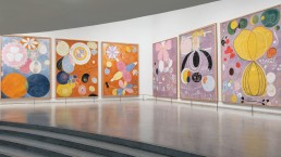 Hilma af Klint: Paintings for the Future installation view