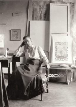 Portrait of Hilma af Klint