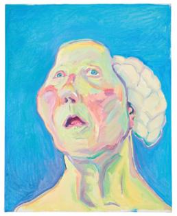 Maria Lassnig - Dame Mit Hirn