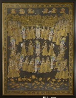 Nirmalya Kumar's Pichhvai Indian painting