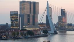 De Rotterdam and Erasmusbrug - Kop van Zuid