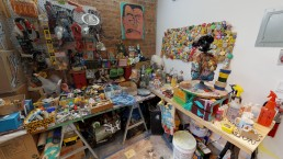 Vincent Dermody's Studio in New York
