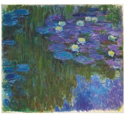 Monet - Nymphéas en Fleur - (1914-17)