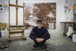 Paco Pomet in his studio