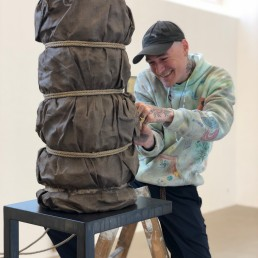 Nick Theobald Installing at Galleri Jacob Bjørn