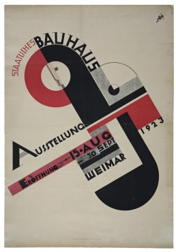Bauhaus exhibition poster
