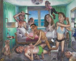 Mark Greenwold, A Magic Summer
