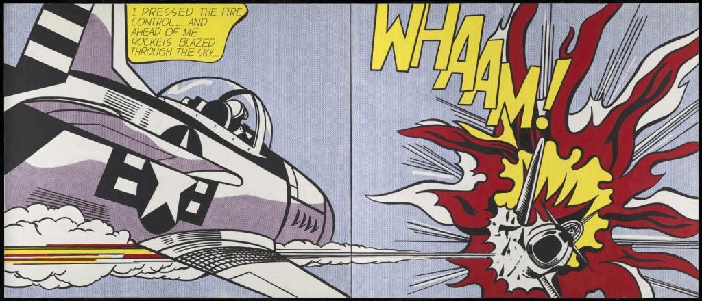 Roy Lichtenstein Pop Art. Whaam!