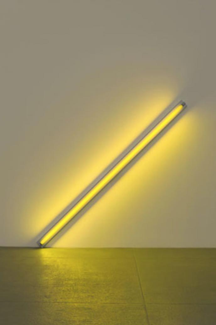 Dan Flavin, Light art