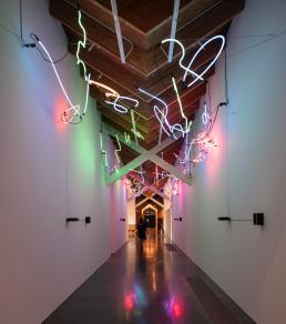 Keith Sonnier, light art