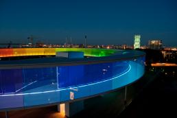 Olafur Eliasson, Your Rainbow Panorama, light art